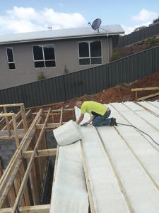 Insulation install